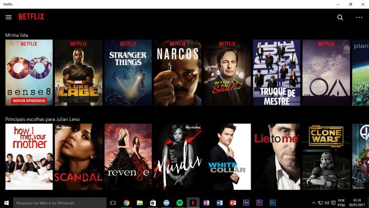 Netflix para Windows 10