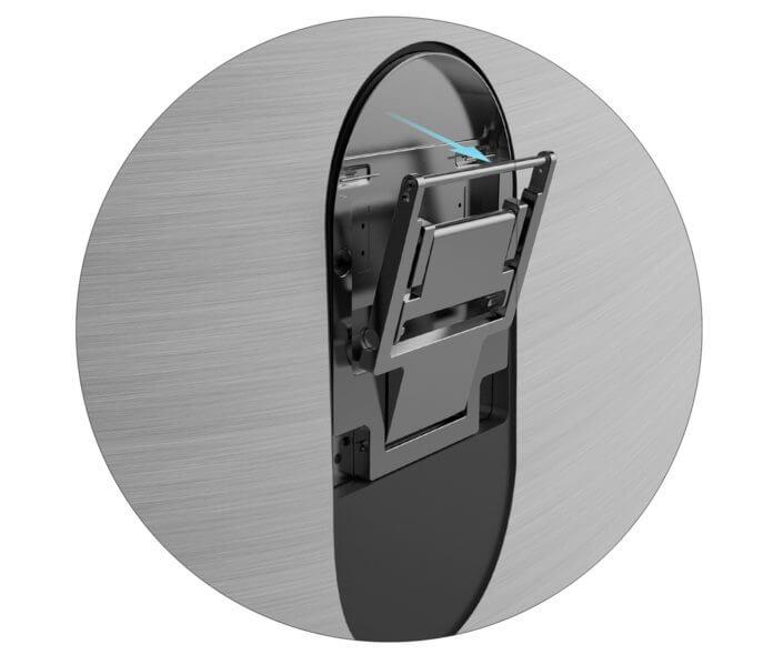 Design impecável: TVs QLED da Samsung se integram à sua área de estar 8