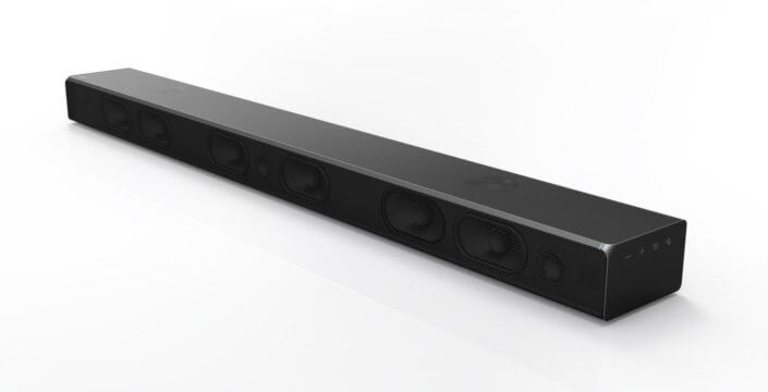 Soundbar MS750 da Samsung - Blu-Ray 4K e caixas de som de Hi-Fi são destaques da Samsung na CES 2017