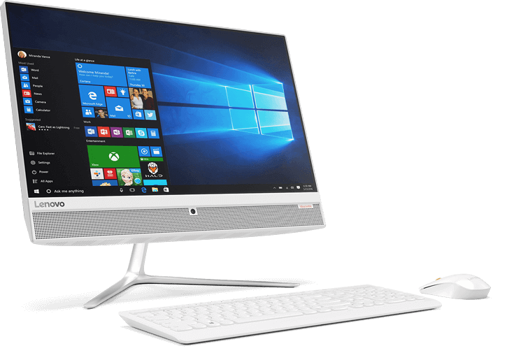 Lenovo anuncia novo all-in-one no Brasil com tela Full HD sem bordas