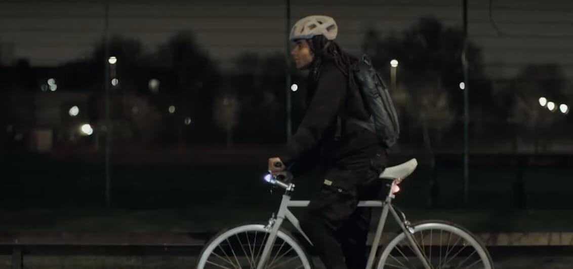 lifepaint - Volvo cria tinta especial que pode salvar a vida dos ciclistas