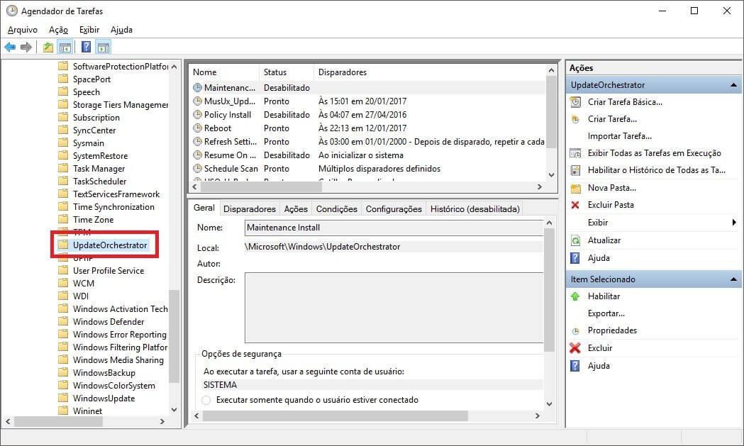 Windows 10: como desabilitar as reinicializações automáticas