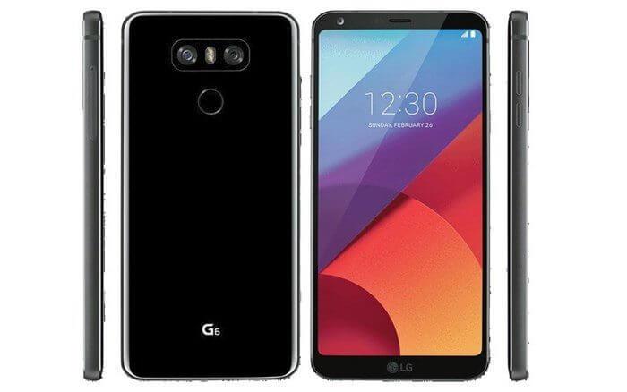 LG G6 by Evan Blass EvLeaks SMT - Esta é a primeira imagem do LG G6