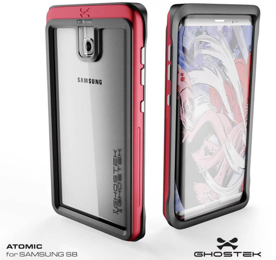 Matching Galaxy S8 case render from Ghostek Image credit Ghostek