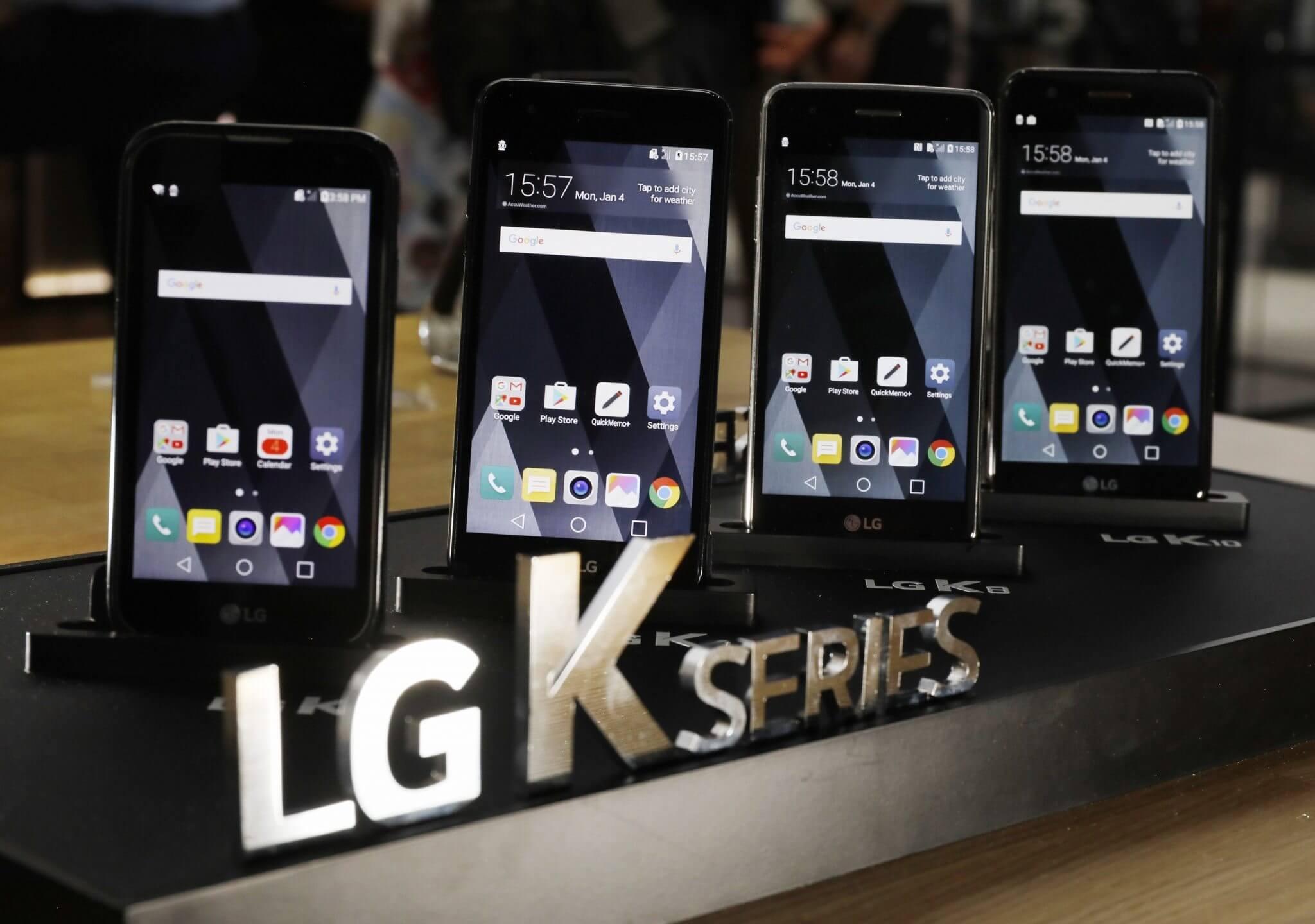 LG anuncia nova linha K no Brasil, com Android 7.0 e novo visual