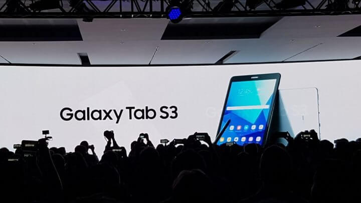 Unknown 3 720x405 - MWC 2017: Conheça os tablets Samsung Galaxy Tab S3 e o Samsung Galaxy Book