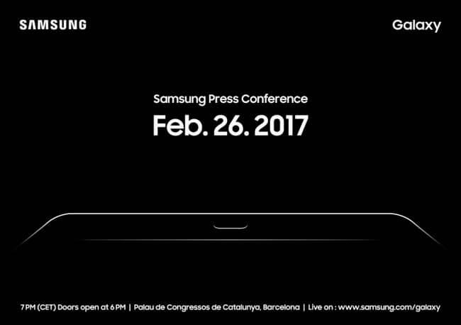 Samsung pode mostrar o galaxy s8 na mwc 2017, mas sem anunciá-lo oficialmente. O convite enviado à imprensa internacional dá pistas de que a estrela do show será um tablet, não um smartphone.