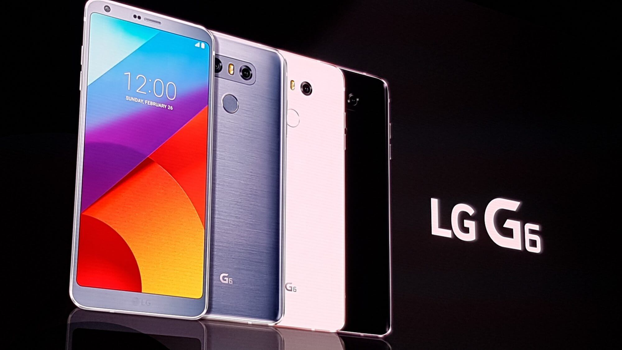 LG G6 é lançado na Mobile World Congress
