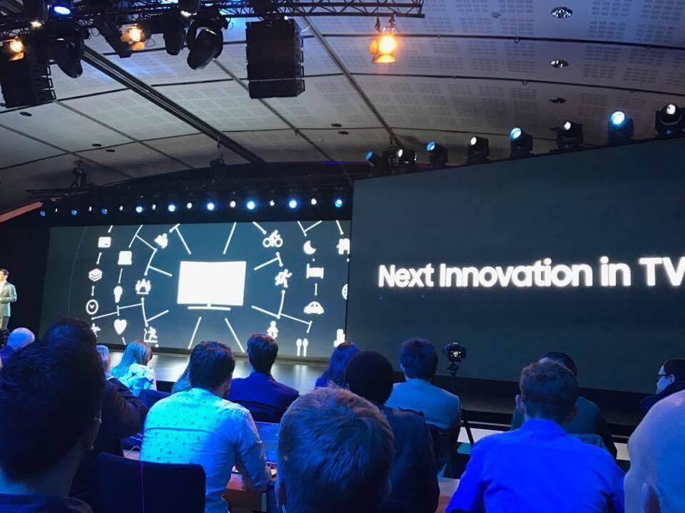 Samsung anuncia nova linha de TVs QLED em Paris