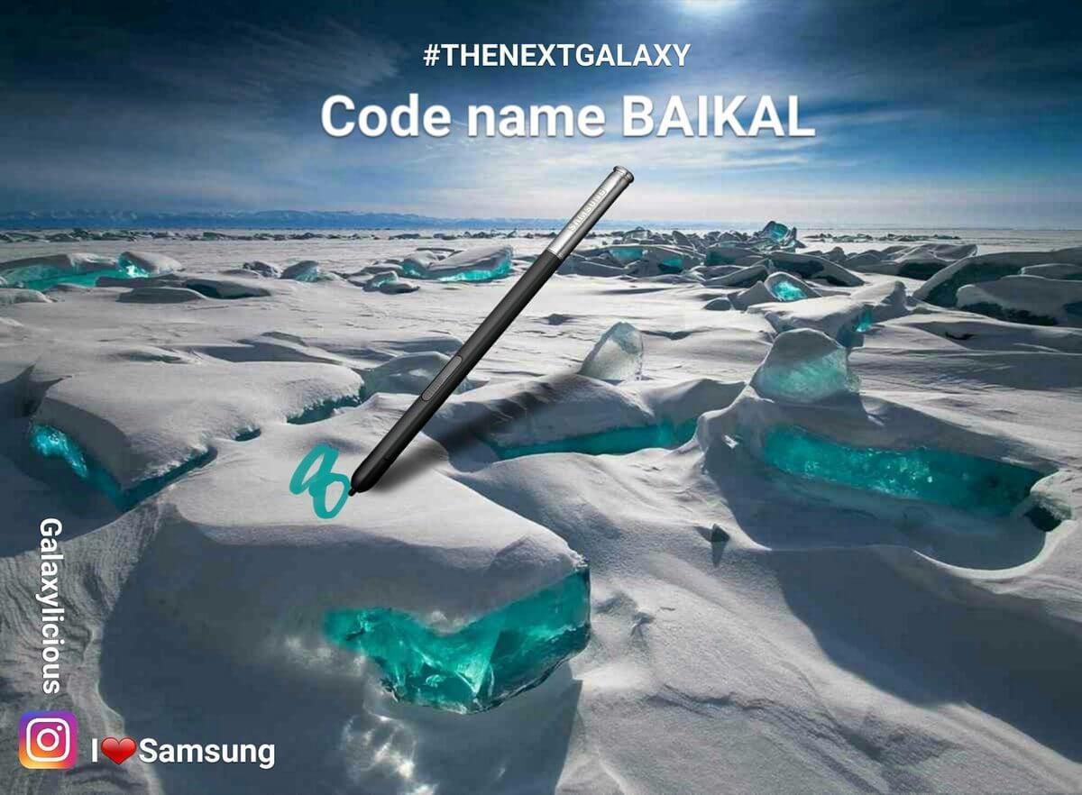 baikal - O que sabemos e esperamos do Galaxy Note 8