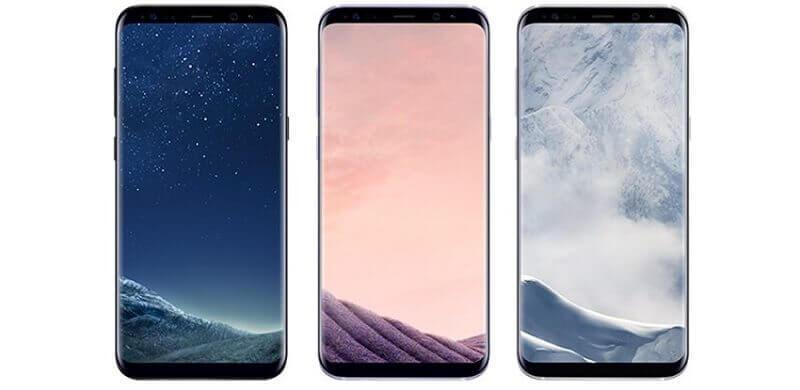 Galaxy S8 em imagem publicada na internet