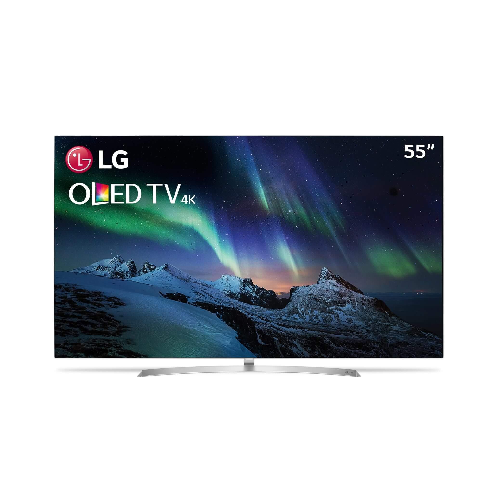 Linha Signature da LG de TVs OLED