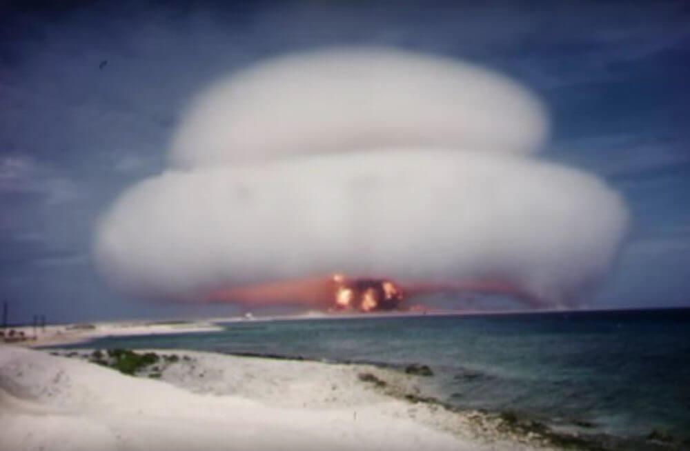 Depois de mais de 50 anos, vídeos de testes nucleares americanos se tornam públicos