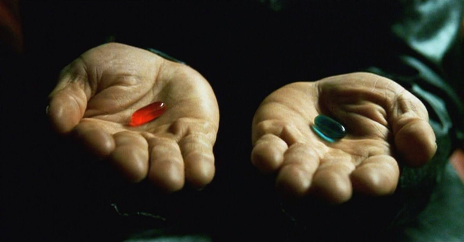 """the matrix red pill blue pill - Warner Bros trabalha em reboot de """"Matrix"""""""
