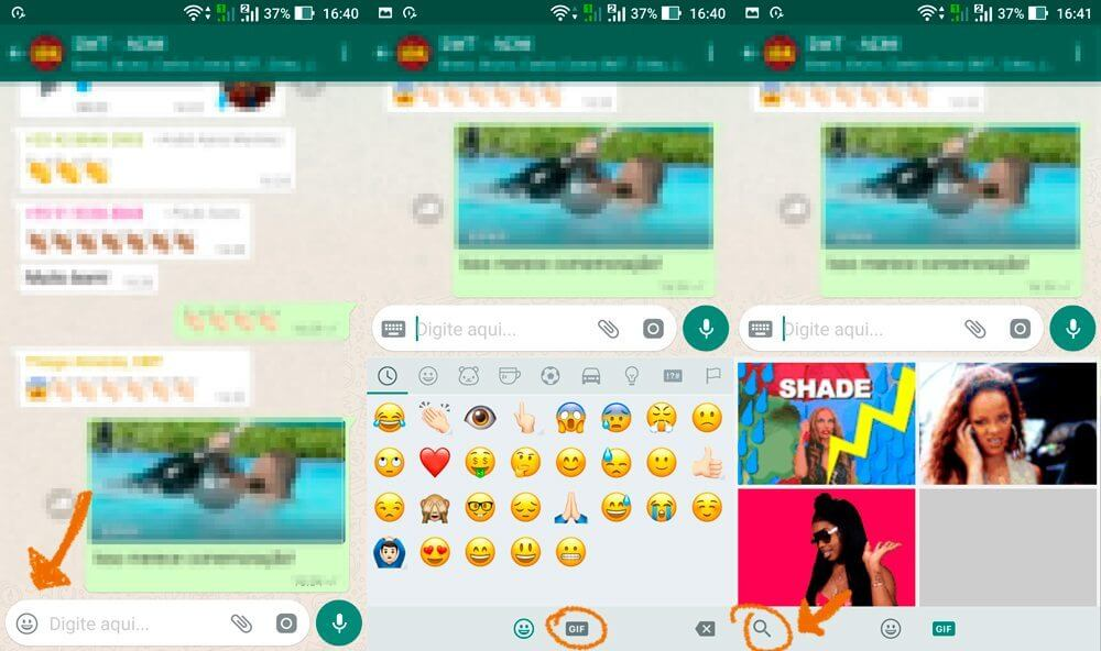 Tutorial: Como enviar GIFs no WhatsApp