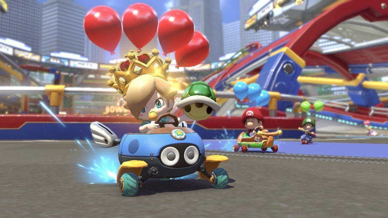 NintendoSwitch MarioKart8Deluxe Presentation2017 scrn19 bmp jpgcopy - Mario Kart 8 Deluxe chega na semana que vem e recebe boas críticas da imprensa