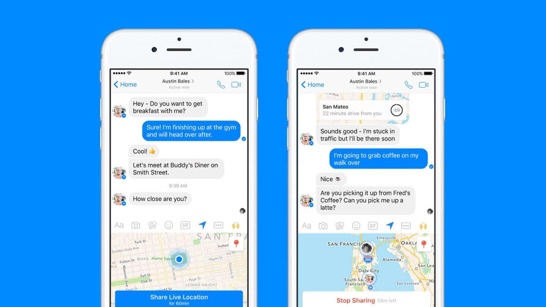 facebook messenger real time location f137281851d5bd5d28a86dbcf3a38b6f xl - Tutorial: Como enviar sua localização em tempo real para familiares e amigos
