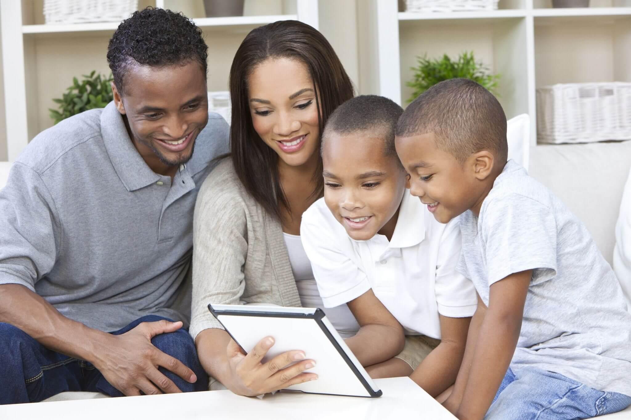 familia proteger filhos