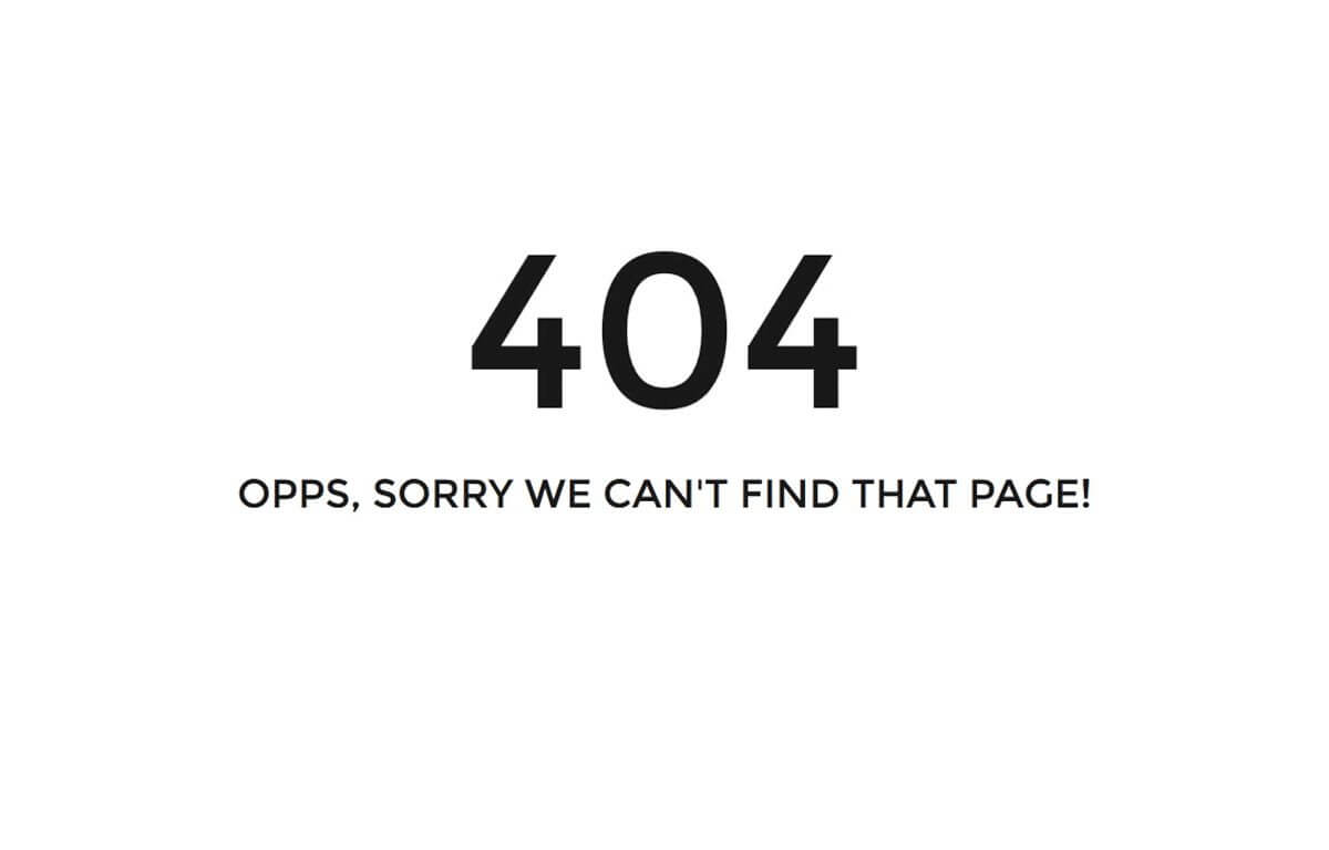 Isso é o que acontece quando você erra a URL do site pornô