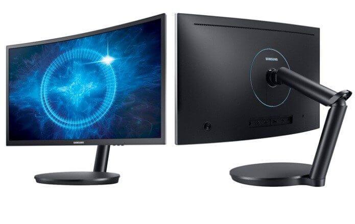Monitor Curvo Gamer da Samsung, com tecnologia de Pontos Quânticos