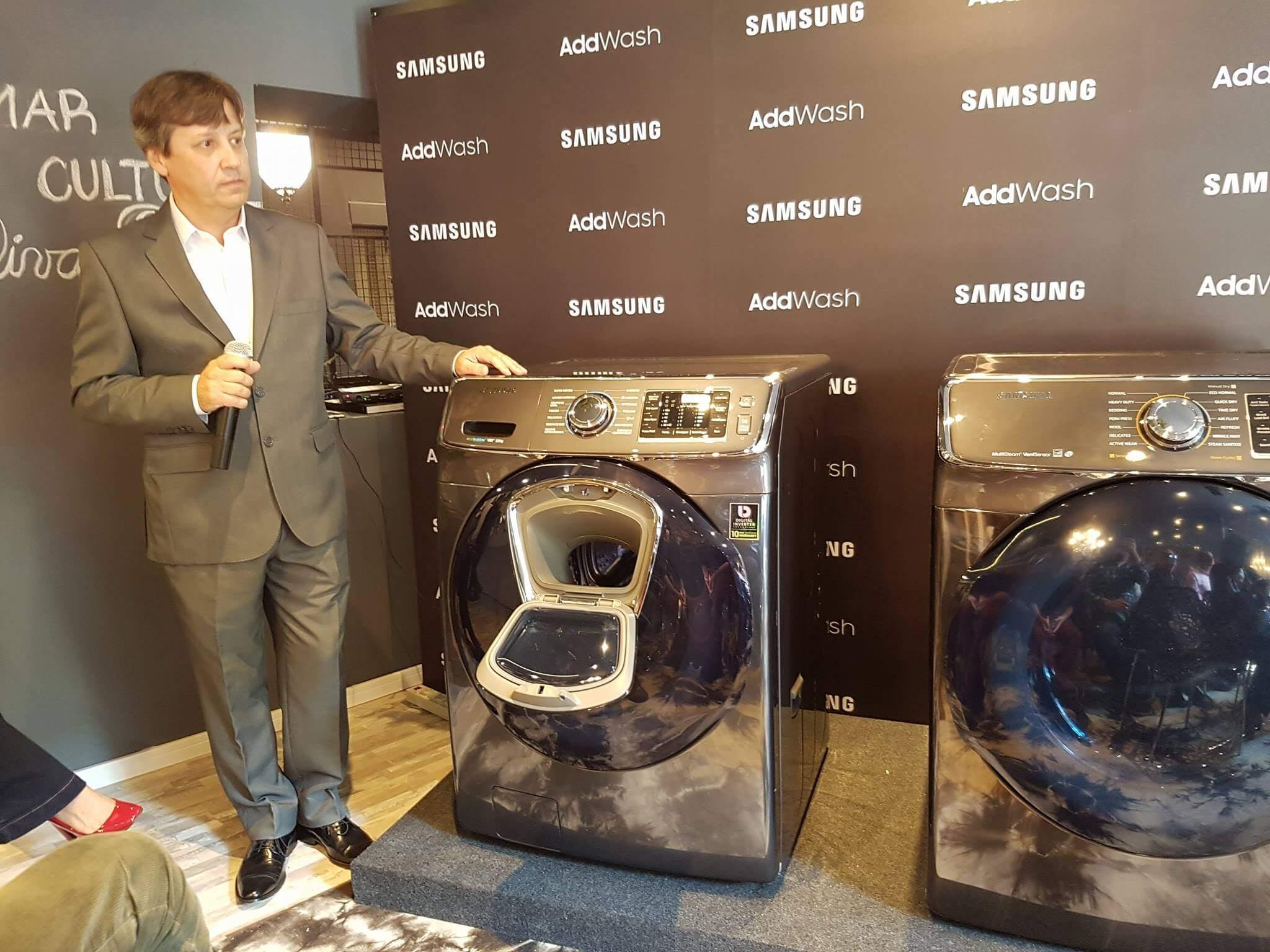 18720685 10207314490580583 531518923 o - Samsung lança linha branca AddWash com tecnologia inteligente