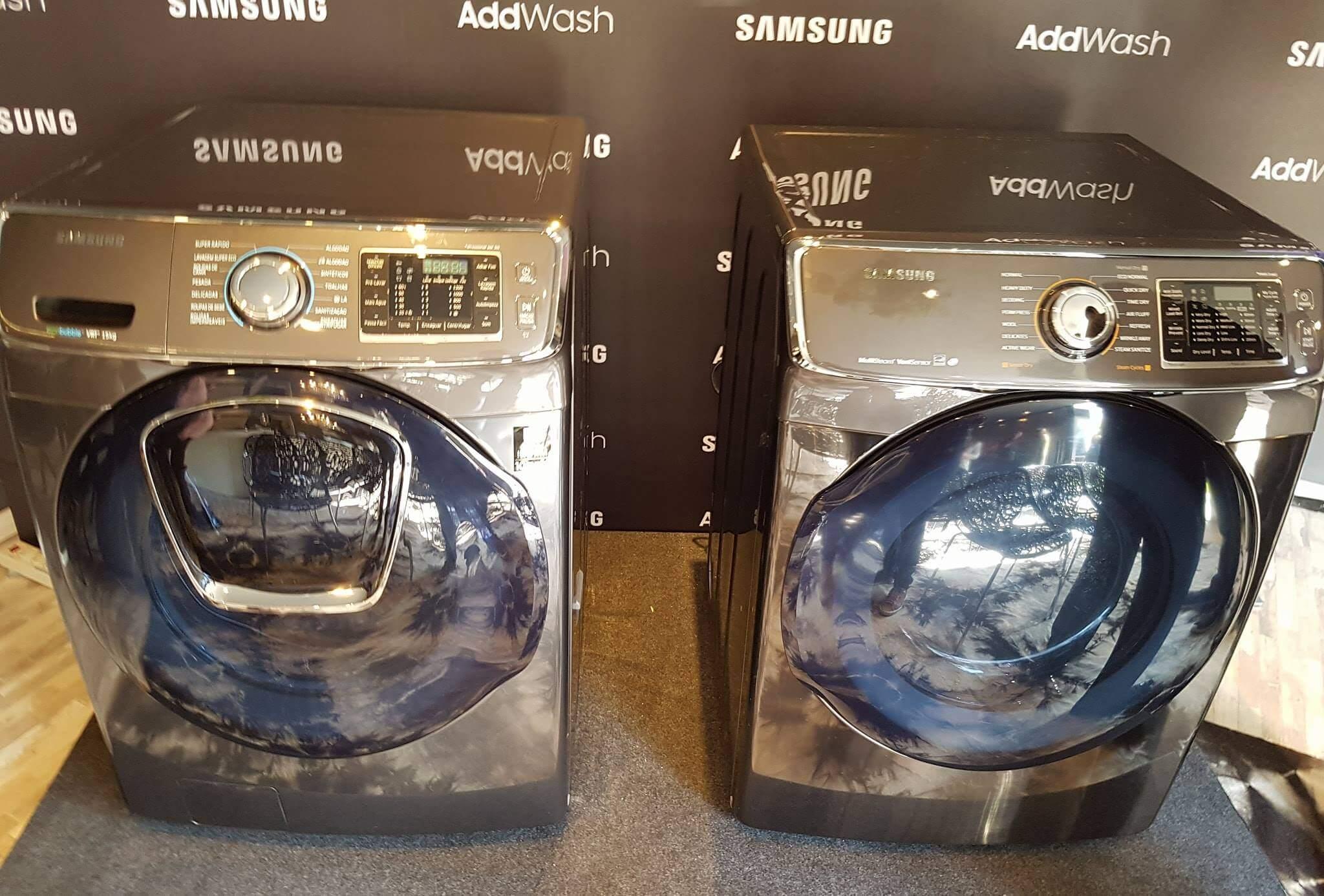 18721587 10207314490620584 585554267 o - Samsung lança linha branca AddWash com tecnologia inteligente