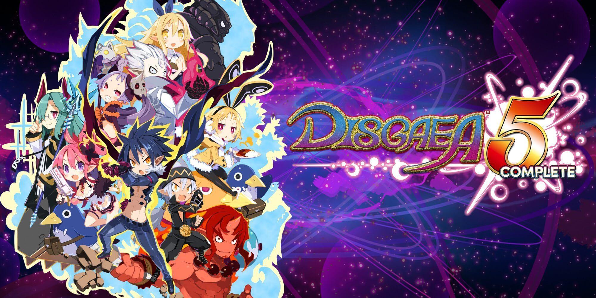 Disgaea 5 Complete é lançado para o Nintendo Switch