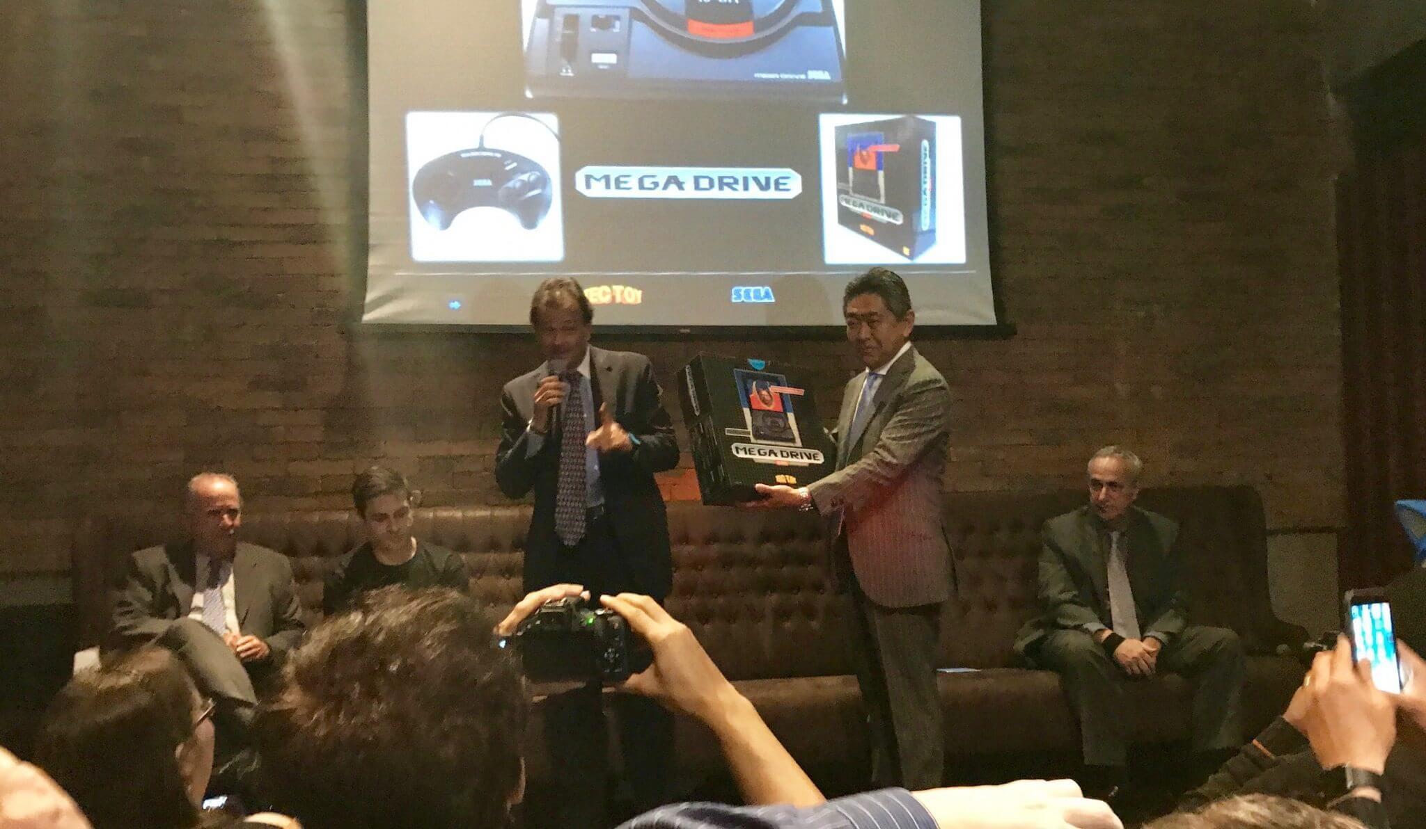 IMG 2051 - TecToy e SEGA anunciam relançamento do Mega Drive em evento