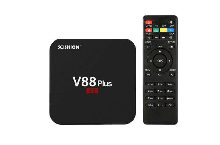 V88 Plus Android TV Box