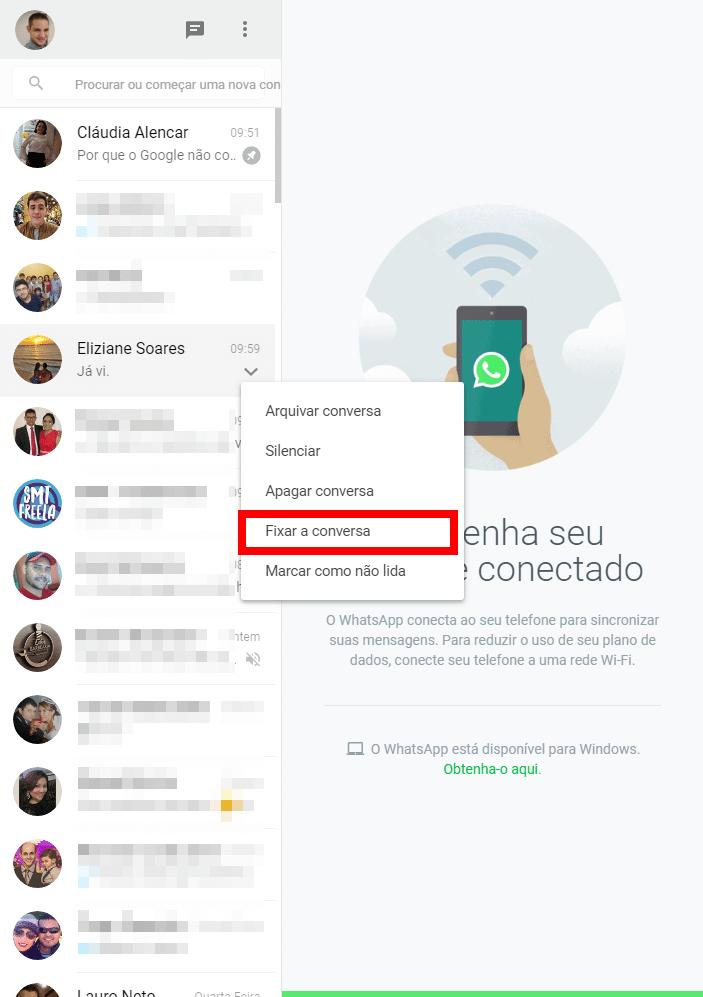 screenshot 20170519 103104 - WhatsApp: Fixe as conversas mais importantes no topo da tela