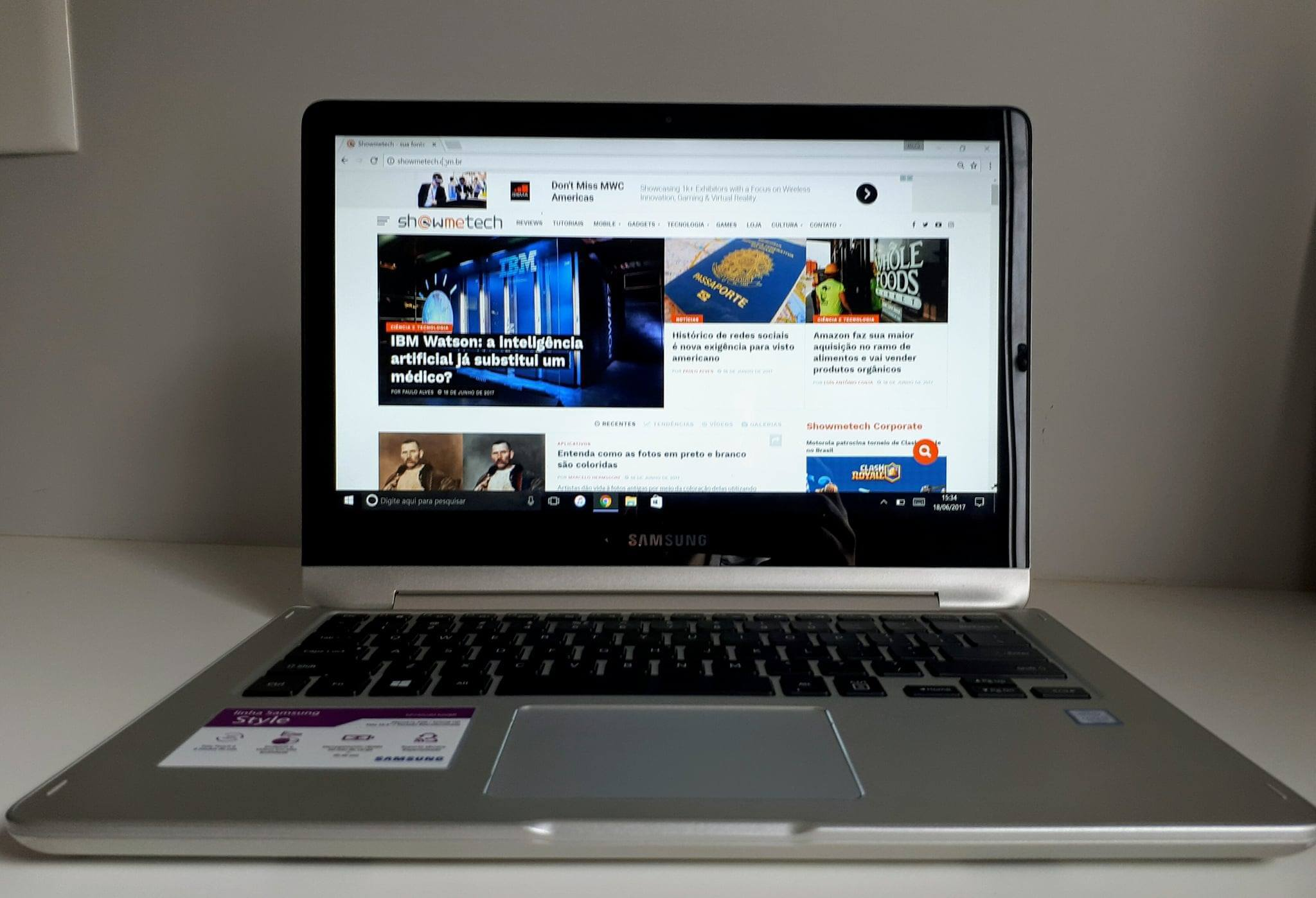 Review: Notebook Samsung Style 2 em 1 (2017)