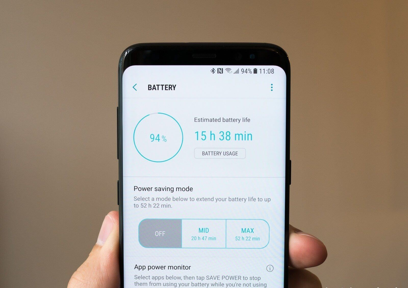 BATTERY GALAXY S8 - 7 motivos para trocar o iPhone 8 ou Google Pixel 2 pelo Galaxy Note 8