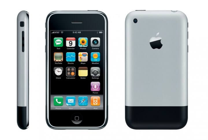 iPhone, Apple, Android, 10 anos - iPhone 2G