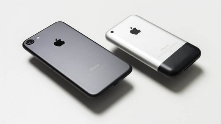 iPhone Apple Android 10 anos iPhone and iPhone 720x405 - #iPhone10: conheça a história revolucionária do primeiro iPhone