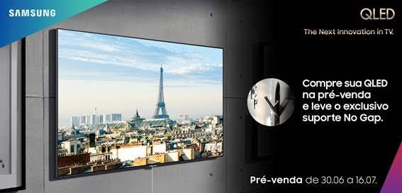 Samsung inicia pré-venda da nova qled tv no brasil