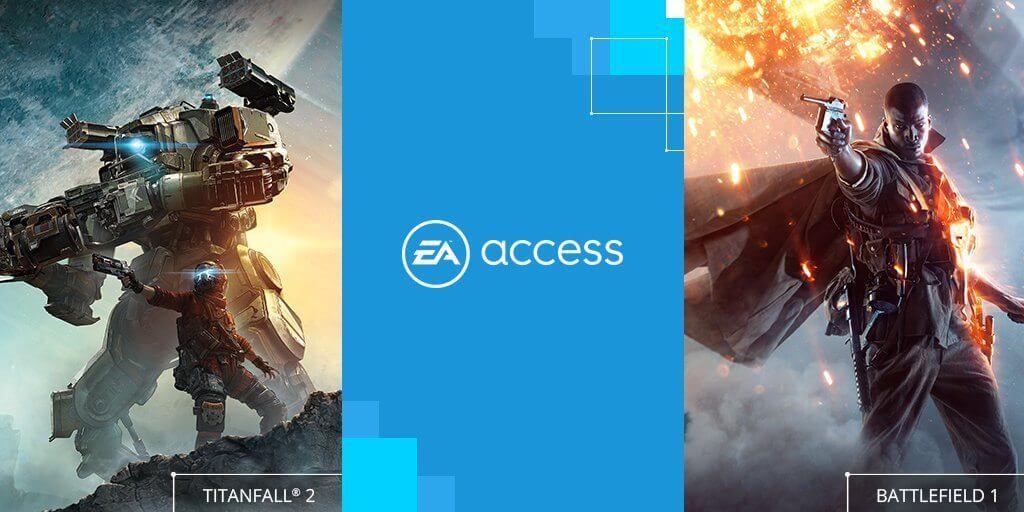 EA Access: Battlefield 1 e Titanfall 2 estão a caminho