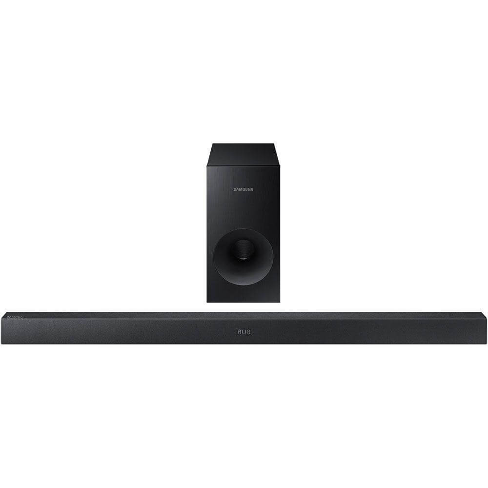 Soundbar 130w – 2. 1 canais com subwoofer sem fio k 360