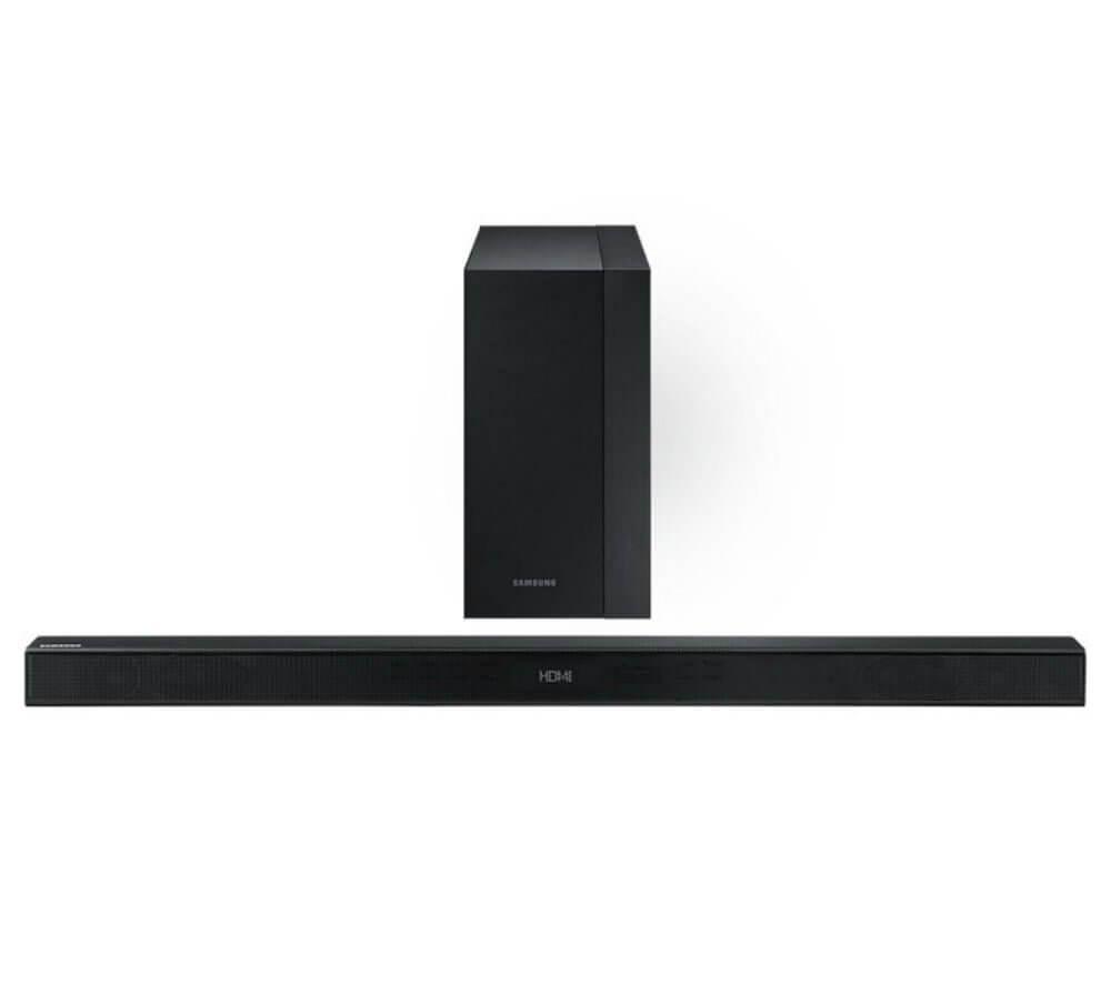 Soundbar 300w – 2. 1 canais com subwoofer sem fio k 450