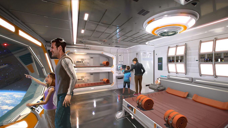Hotel temático de Star Wars já tem data para estrear na Disney