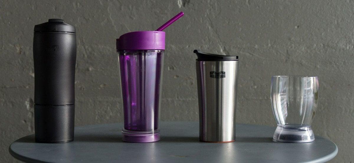 Mighty Mug é a garrafa térmica que não cai nem derruba a bebida!