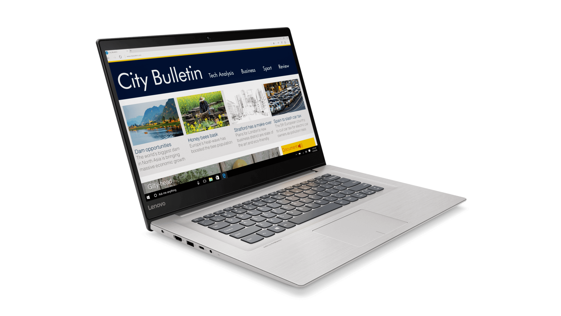 Lenovo lança notebook ideapad 320