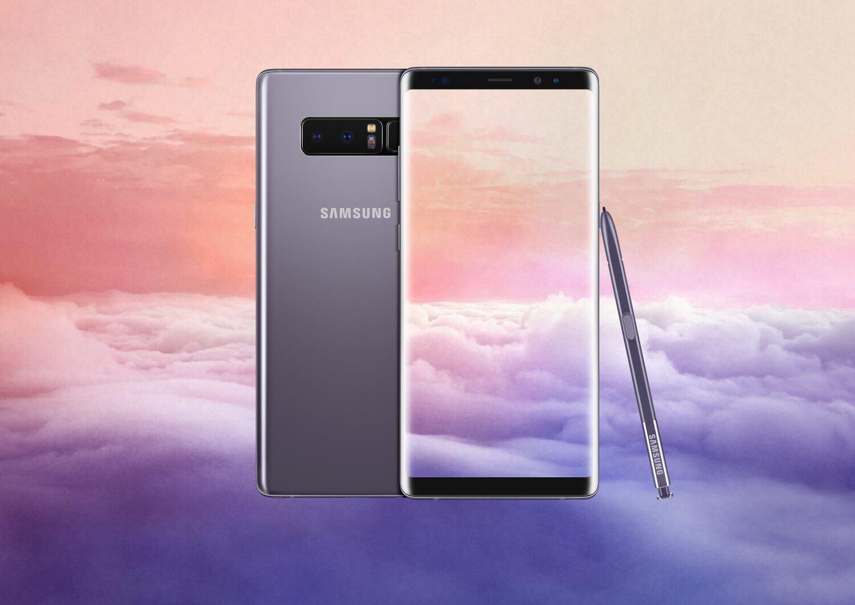 13.Galaxy Note8 Orchid Gray - Samsung divulga 5 vídeos para você aprender a usar o Galaxy Note 8