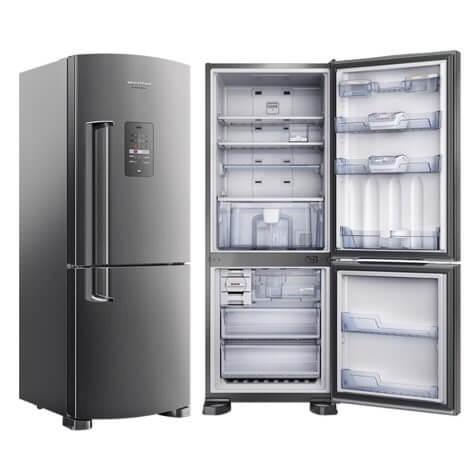 Brastemp duplex inverse frost free platinum 422l bre50nk