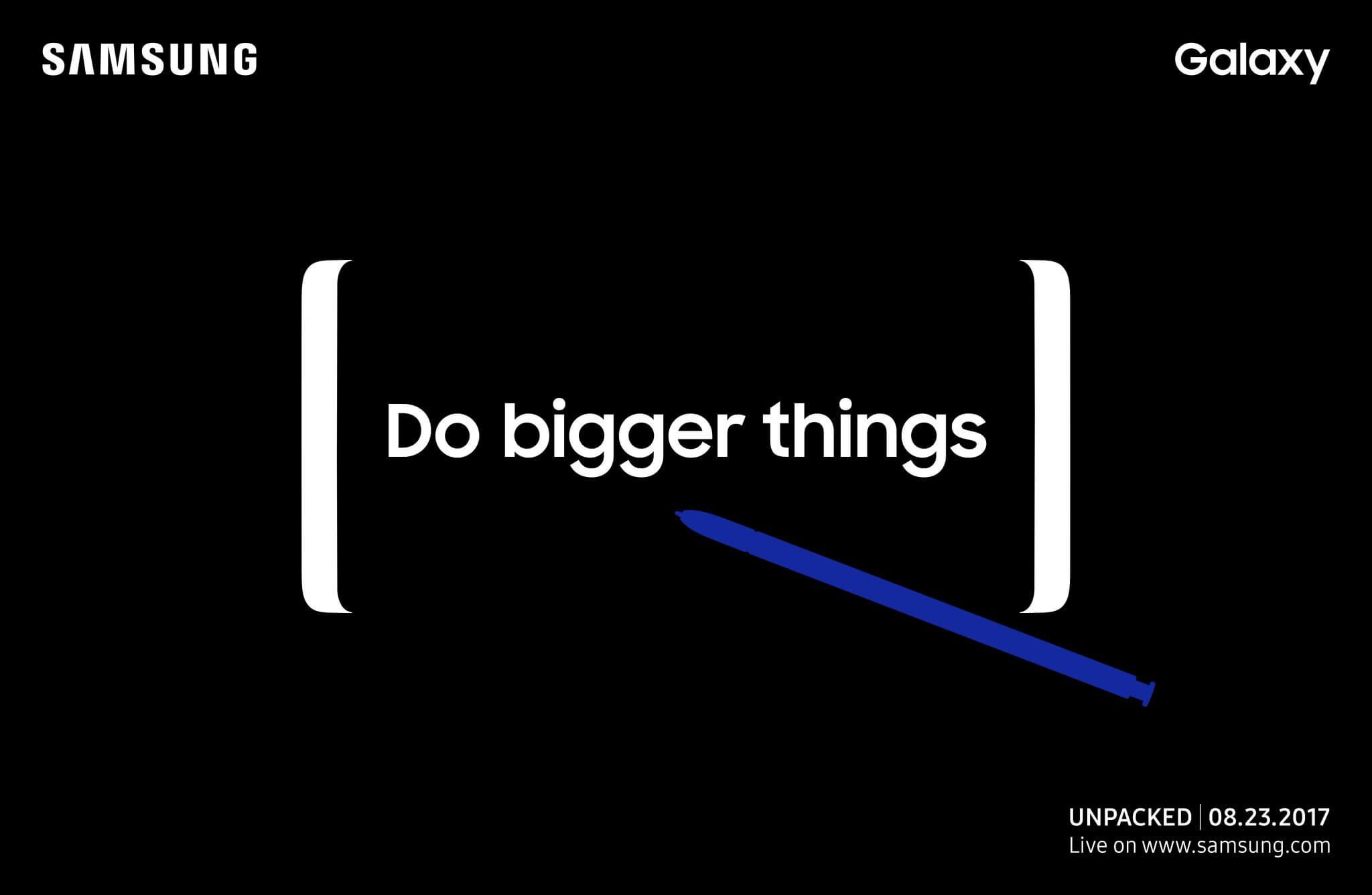 Como assistir o evento da Samsung do novo Galaxy Note 8