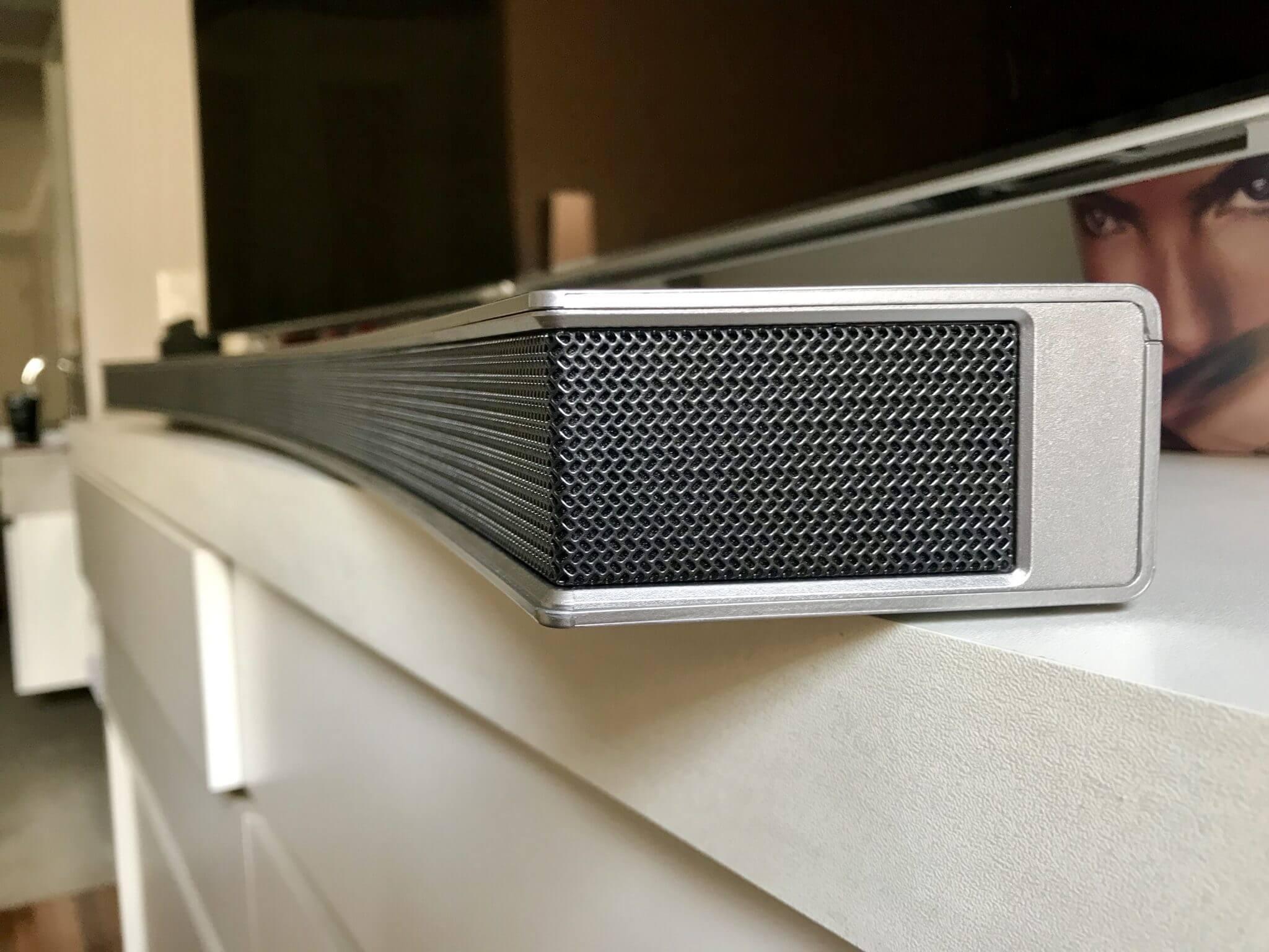 Review: Samsung Soundbar Curvo com Subwoofer sem fio M 4501