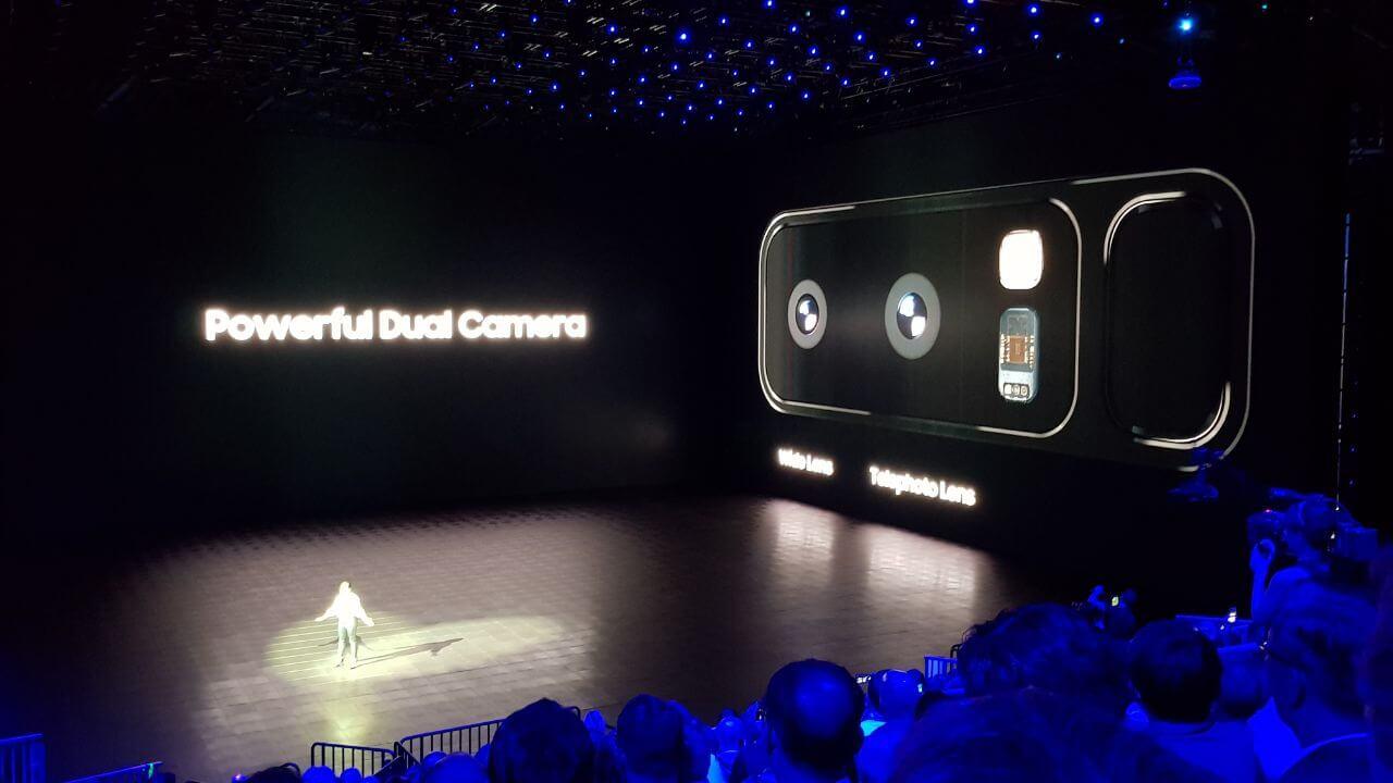 Samsung lança galaxy note 8 em evento global