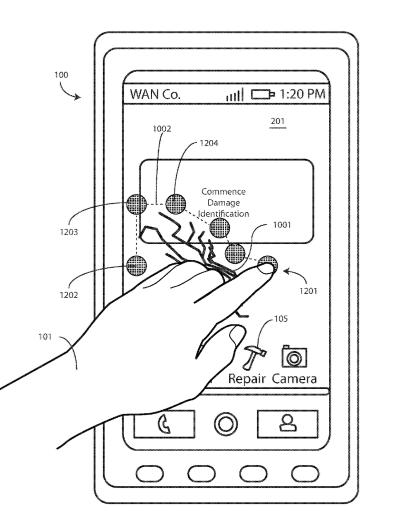 Motorola patenteou tela que pode consertar a si mesma com calor. A empresa já começou a desenvolver tecnologia que utiliza polímero com memória de forma para reparar danos no display.