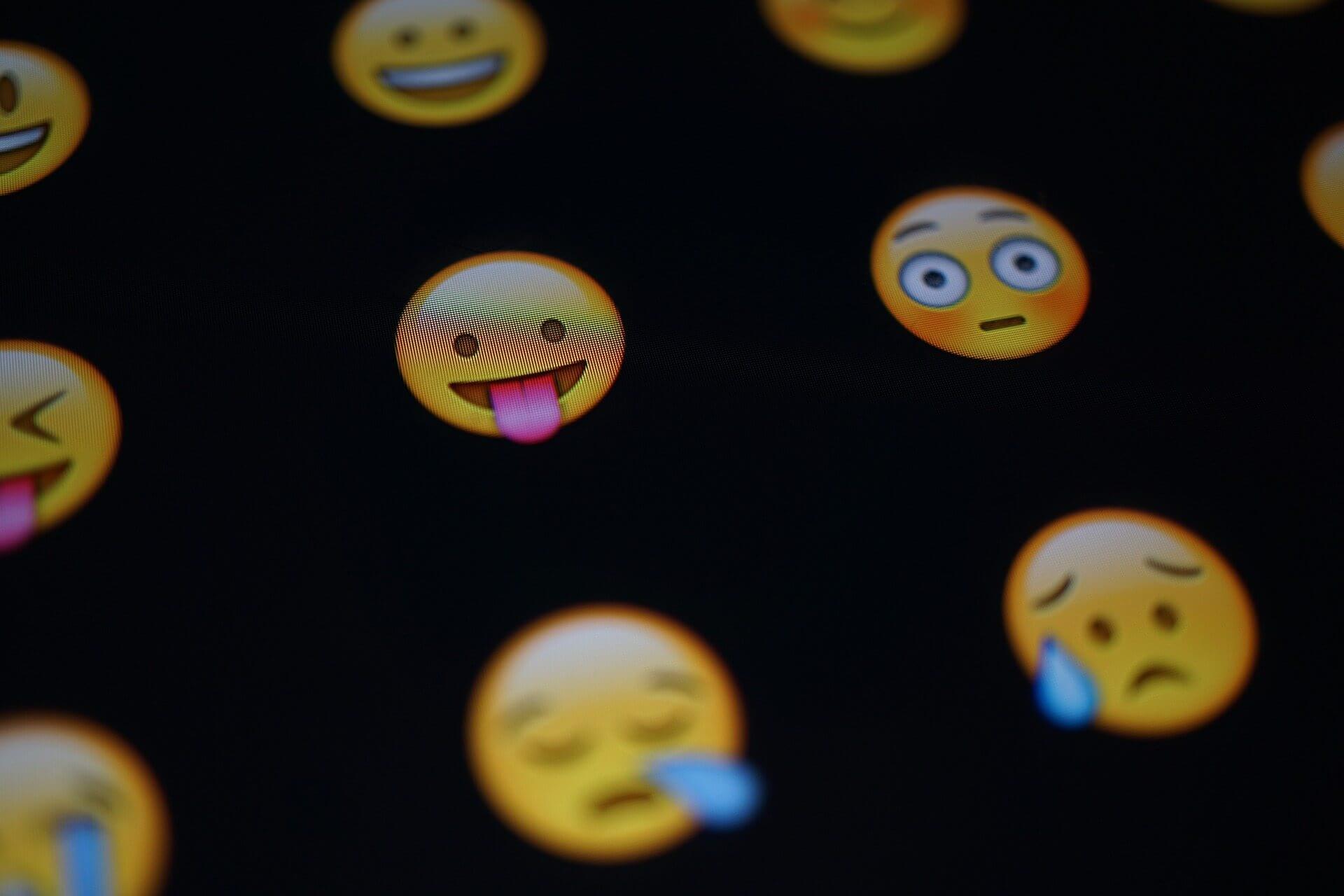 Emojis podem ser sua senha de celular