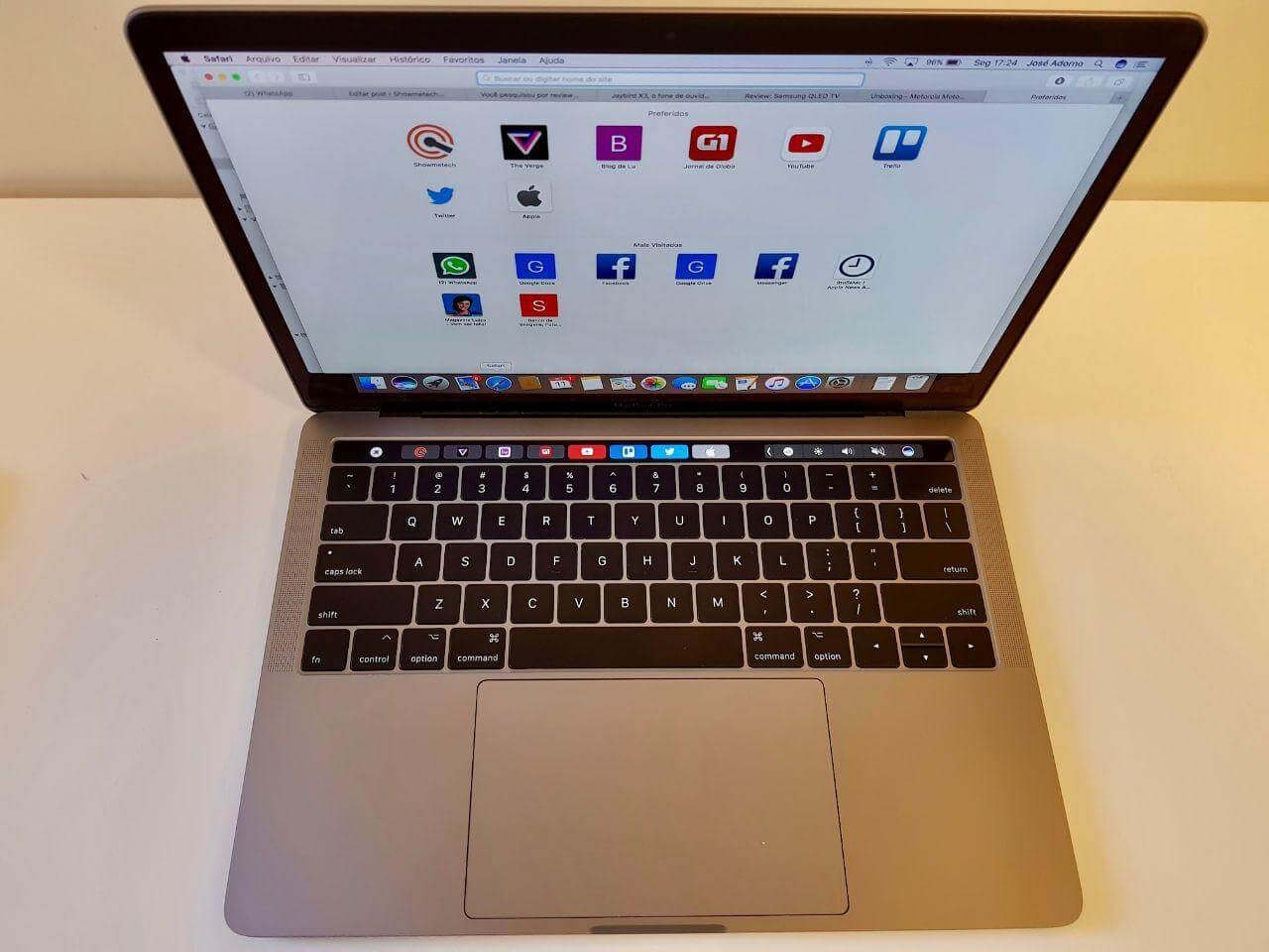 Review: MacBook Pro com Touch Bar (2017)