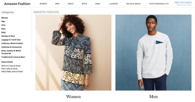 amazon moda fashion